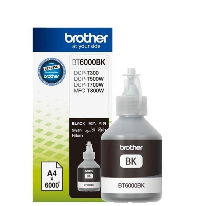 Brother BT6000BK Ink - Black ( DCP-T300, DCP-T500W,DCP-T700W, MFC-T800W )