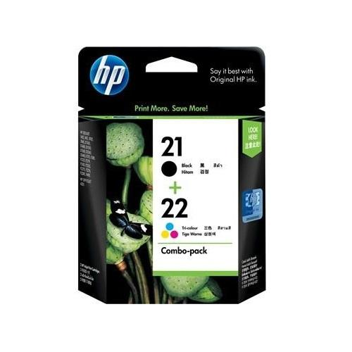 HP (21/22) CC630AA Color Pack Ink Cartridge