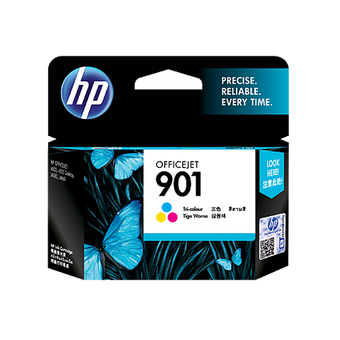 HP (901) CC656AA Tri-Color Ink Cartridge
