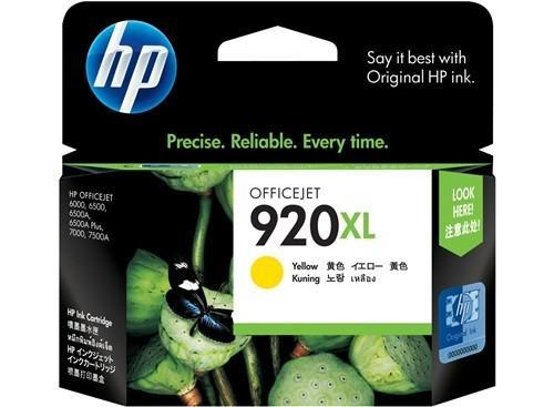 HP (920XL) CD974AA Yellow Ink Cartridge
