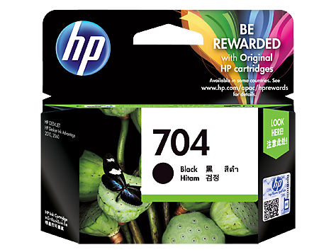 HP (704) CN692AA Black Ink Cartridge