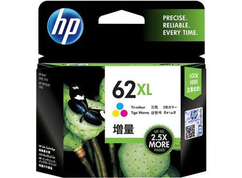 HP (62XL) C2P07AA Tri-Color Ink Cartridge