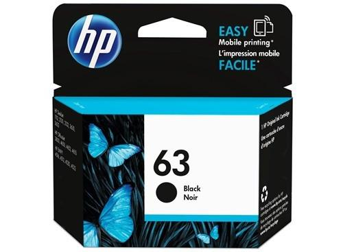 HP (63) F6U62AA Black Ink Cartridge