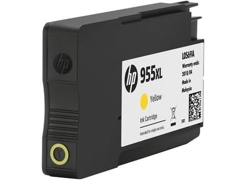 HP (955XL) L0S69AA Yellow Ink Cartridge