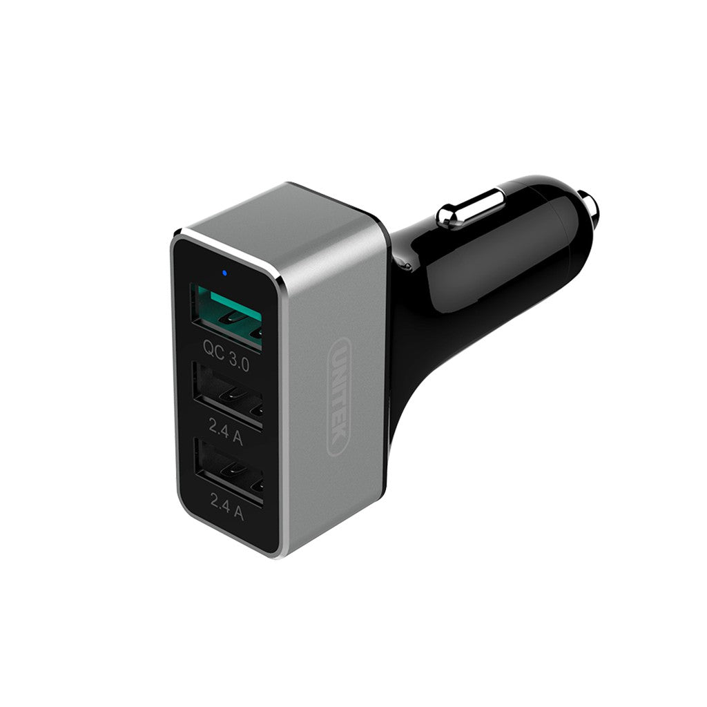 Unitek USB3.0 3pt 42W Car Charger (Y-P530C)