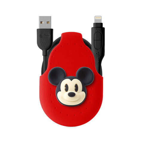 Bone iDualLink USB Lightning Charge & Sync Cable (LK16201) - Mickey