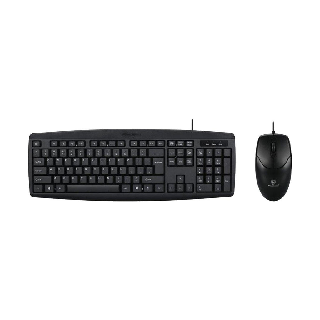 Micropack KM-2003 Keyboard + Mouse Combo Wired USB Desktop (New Year Sale 2021)