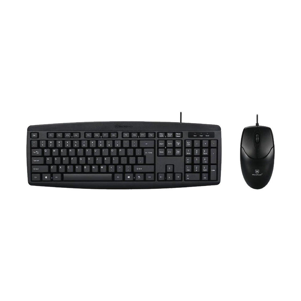 Micropack KM-2003 Keyboard + Mouse Combo Wired USB Desktop