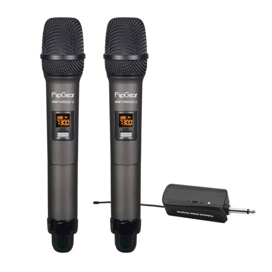 Vinnfier FlipGear WM1100DUO U Duo Wireless Microphones