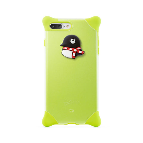 Bone iPhone 7 Plus Bubble Phone Case (PH16301) - Penguin