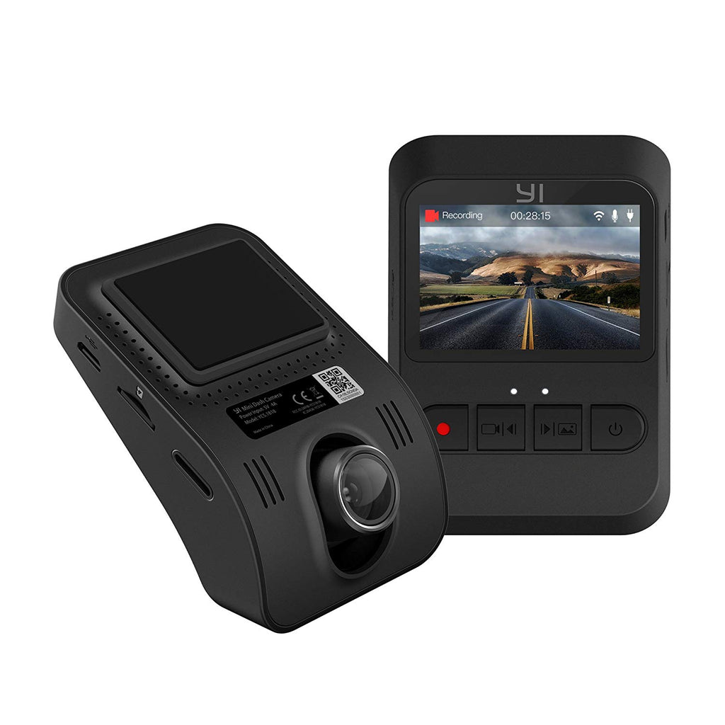 Yi Mini Dash Camera Driving Recorder YCS.1B18 (Black) **FREE Kingston 16GB SD Card worth RM20**