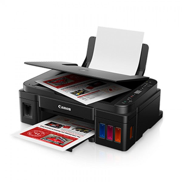 Canon Pixma G3010 Ink Efficient Printer (Free Gift Canon Glossy Paper & RM50 Touch N' Go E-Voucher from Canon)