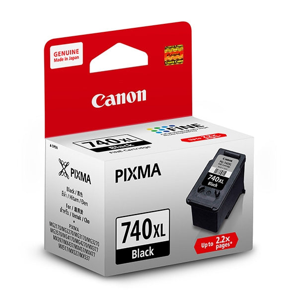 Canon PG-740XL Black Ink Cartridge