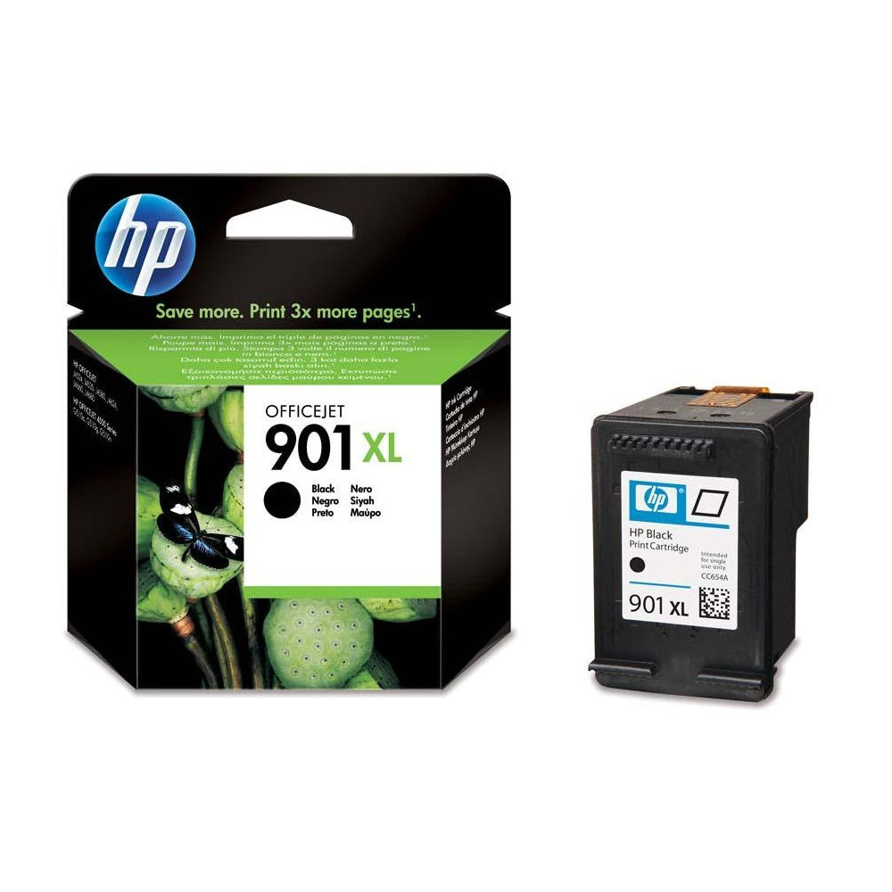 HP (901XL) CC654AA Black Ink Cartridge