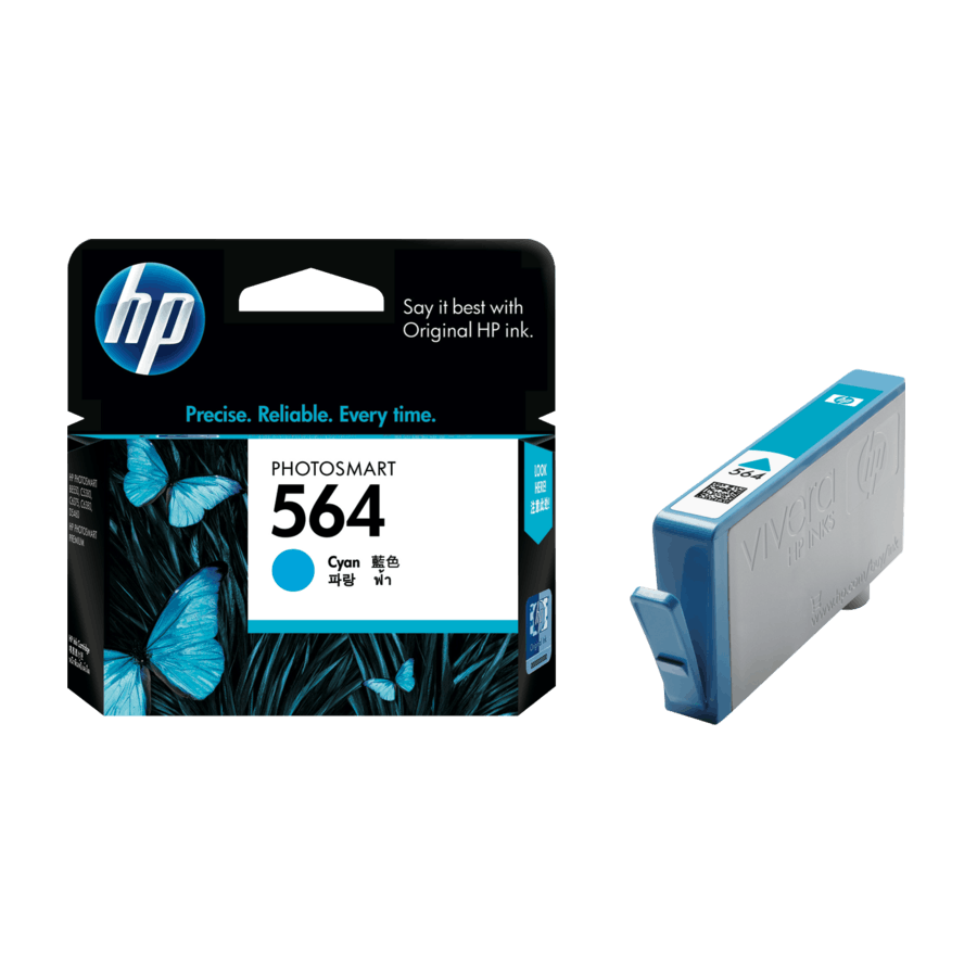 HP (564) CB318WA Cyan Ink Cartridge