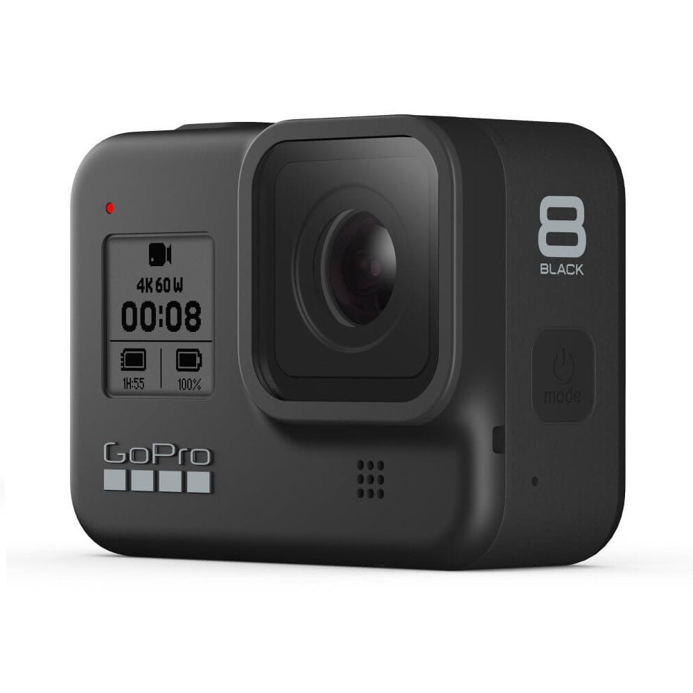GoPro HERO 8 Black Action Camera (Free GoPro Rechargeable Battery, GoPro Sleeve + Lanyard (Black) worth RM218)