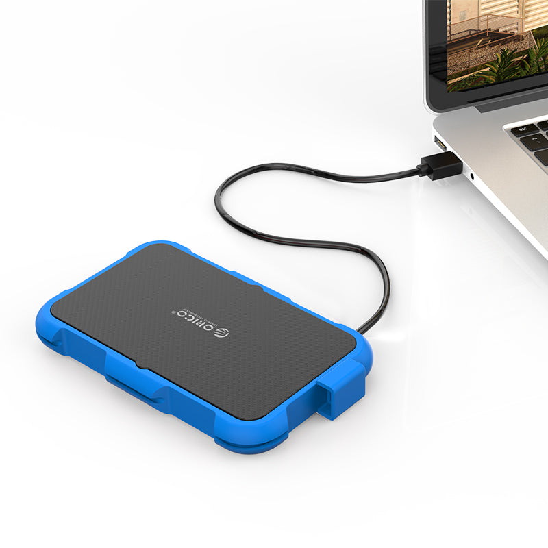 Orico 2.5 USB3.0 SATA Enclosure (2739U3-BL-BP)