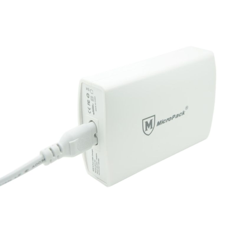 Micropack MUC-6SI 12A 6 Port USB Smart IC Charger