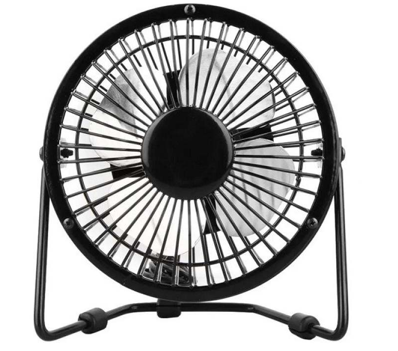 "Lileng 4"" TF12BK Mini USB Cooler Fan"