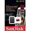 Sandisk Extreme Pro 170MB/s MicroSD Card With Adapter (32GB/64GB/128GB)