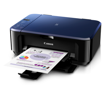 Canon Pixma E510 Ink Efficient Printer (Free Gift Ink Cartridge PG-88 Black & Canon Paper 4x6 Photo Glo GP-508 20s)