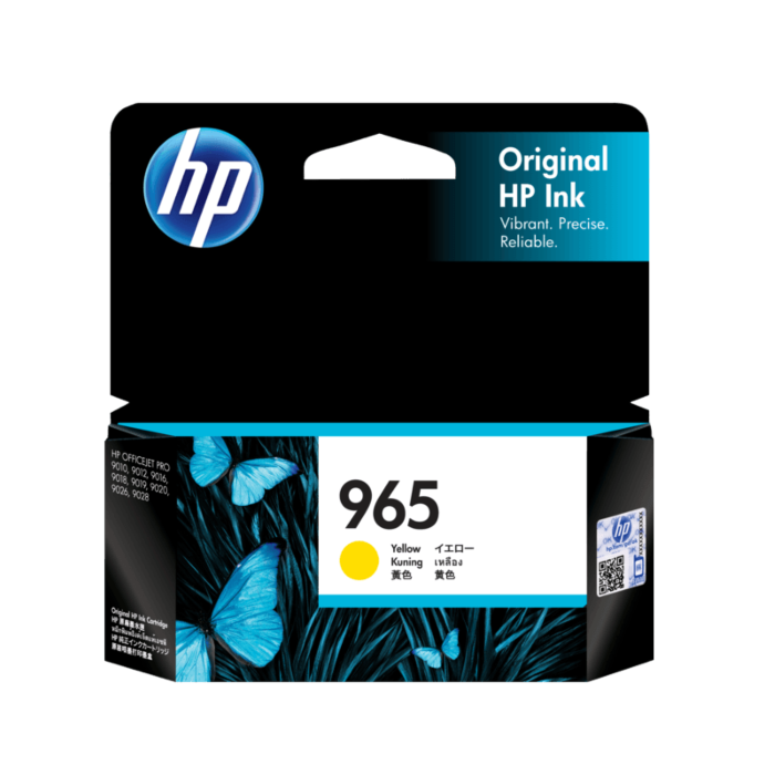 HP 965 Original Ink Cartridge (3JA77AA 3JA78AA 3JA79AA 3JA80AA)