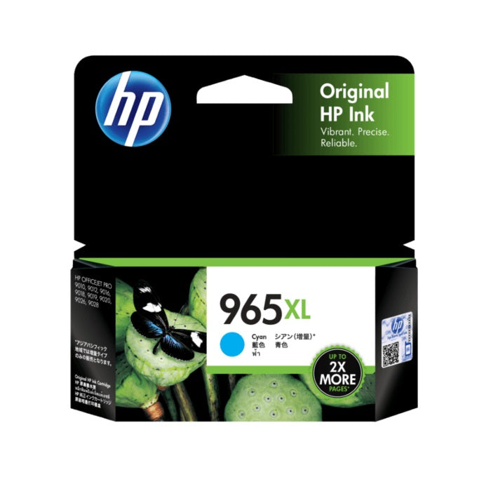 HP 965XL Ink Cartridge (3JA81AA 3JA82AA 3JA83AA 3JA84AA)