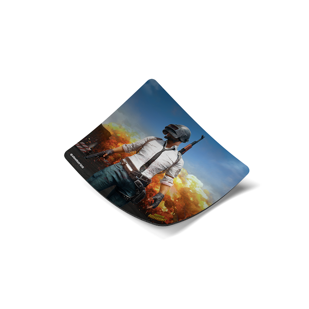 SteelSeries QCK+ PUBG Erangel Edition Gaming Mouse Pad (63807)