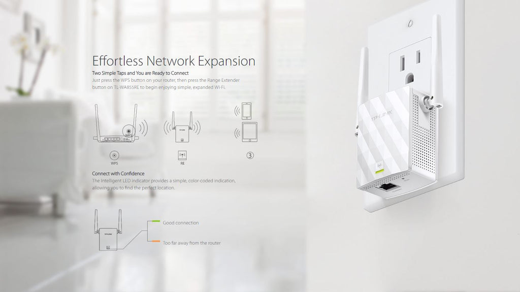 TP-Link TL-WA855RE Range Extender Repeater – ALL IT Hypermarket