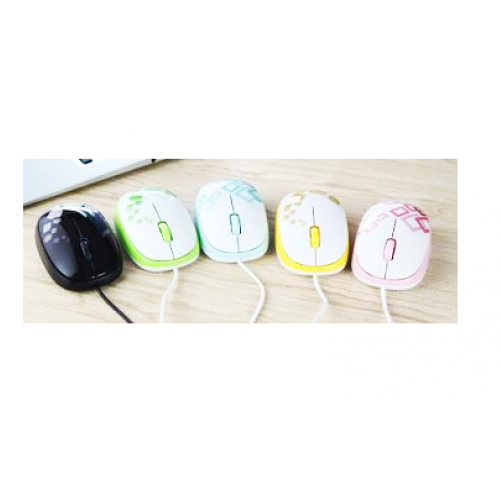 Micropack MP-354 Wired USB Optical Mouse - Multi Color