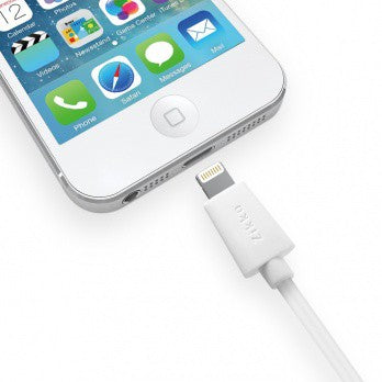Zikko Lightning Cable USB Charge and Sync 1M Cable (SC500-S100) ( Black / White )