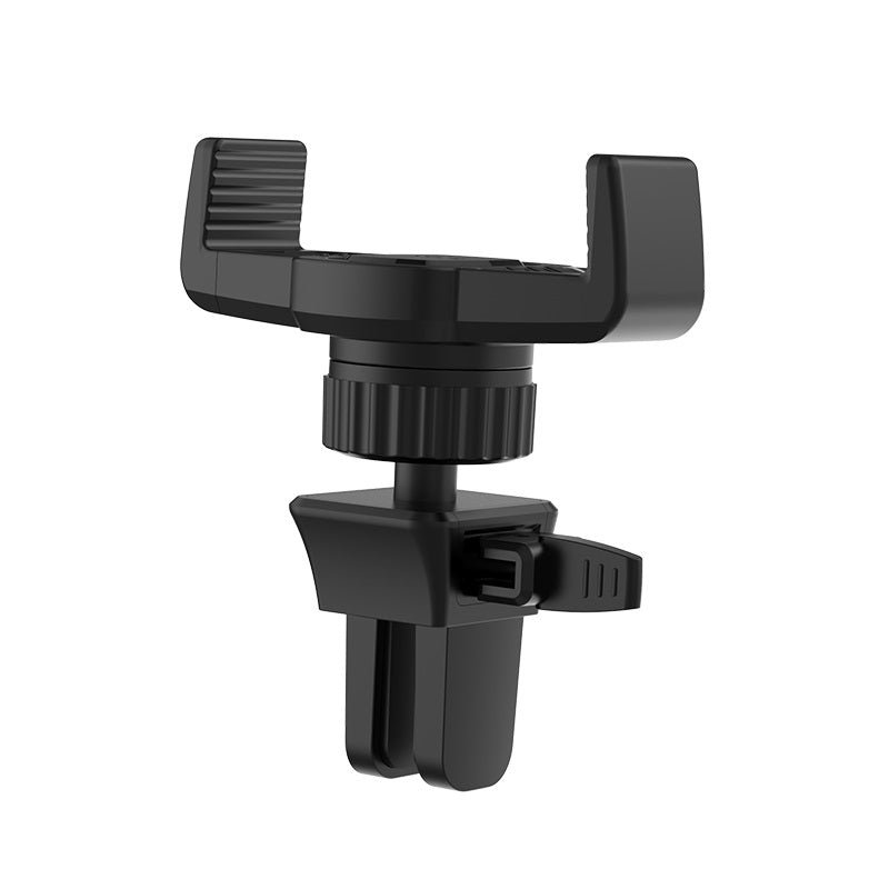 Hoco CA38 Platinum Sharp Air Outlet In-Car Holder - Black (CNY 2020)