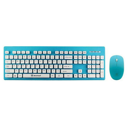 Micropack KM-232W Wireless Desktop Keyboard - Multi Color