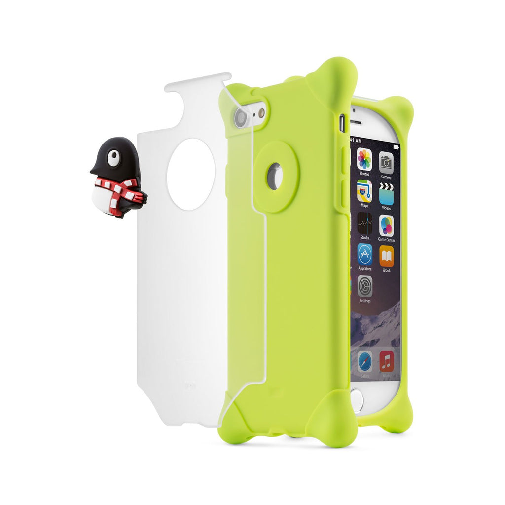 Bone iPhone 7 Bubble Phone Case (PH16101) - Penguin