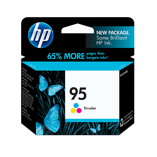 HP (95) C8766WA Tri-color Ink Cartridge