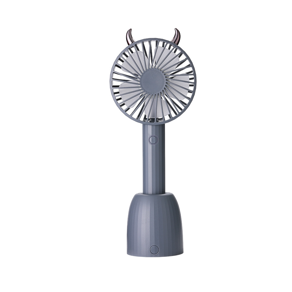 Pocketto 5G With Auto Rotate Stand Base USB Rechargeable Cooler Fan (POCKT-F006)