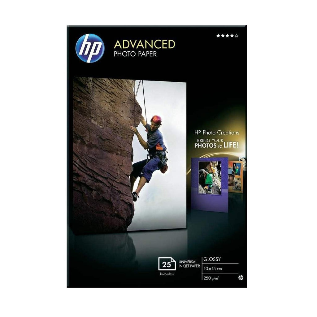 HP Paper 4R Advance Photo Glo 25 Sheets (Q8691A)