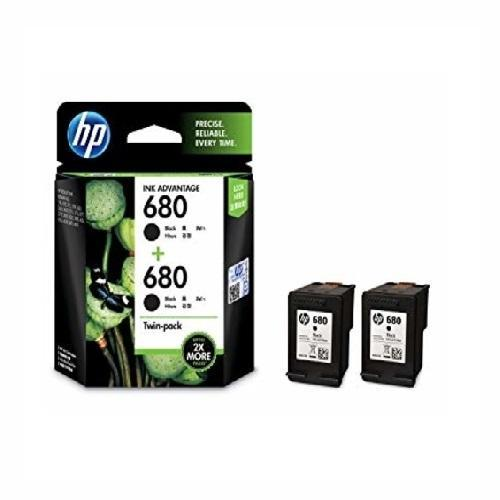 HP 680 2-pack Black Original Ink Advantage Cartridges