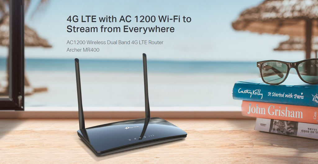 TP-Link Wireless AC1200 Dual-Band 4G LTE Archer MR400 Router