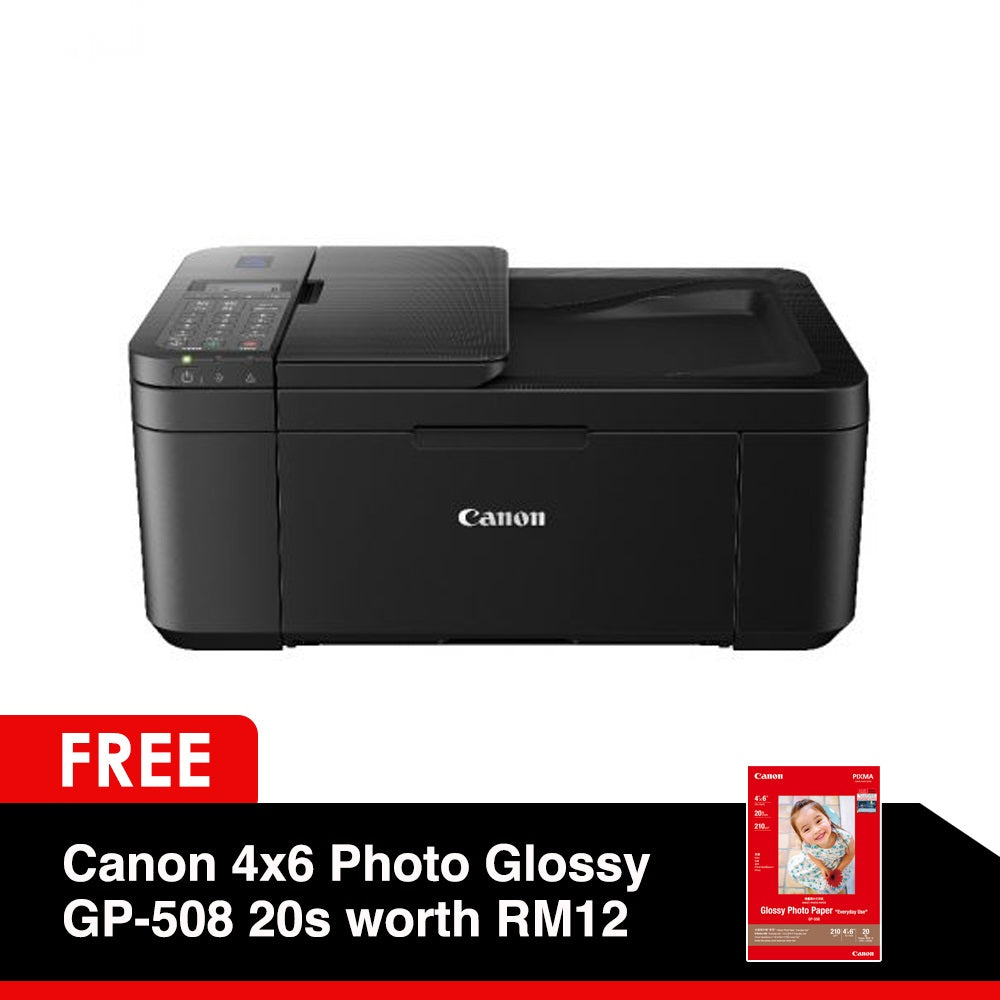 Canon PIXMA E4270 All-in-one Printer (Free Gift Canon Paper 4x6 Photo Glo GP-508 20s worth RM12 & Canon Calculator AS-120V worth RM10)