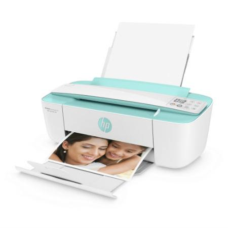 HP Deskjet 3776 Ink Adv (T8W39B) Seagrass Grn Printer (Free HP Social Media Snapshots Photo Paper)