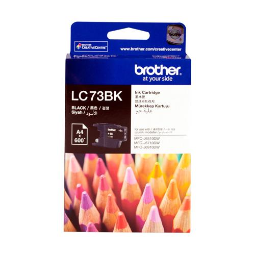 Brother LC73BK LC73C LC73M LC73Y Ink Cartridge