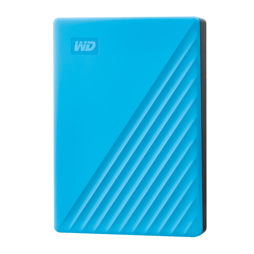 Western Digital My Passport 4TB USB 3.0 External Hard Drives New Design (WDBPKJ0040) (Free Pouch)