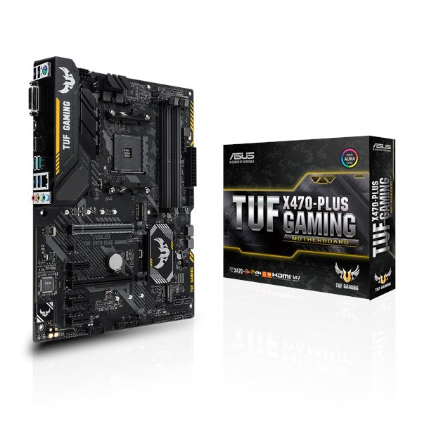 Asus TUF X470-PLUS Gaming Motherboard