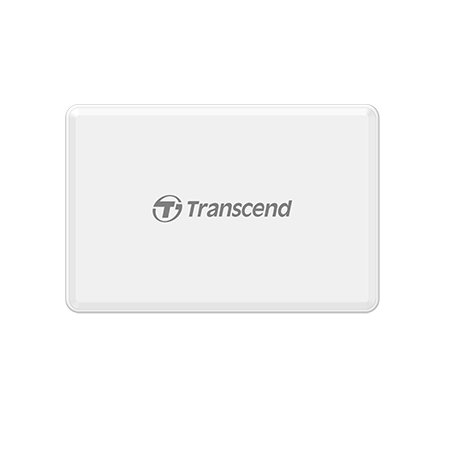 Transcend USB 3.1 Gen 1 Card Readers (RDF8K2) (Black/White)
