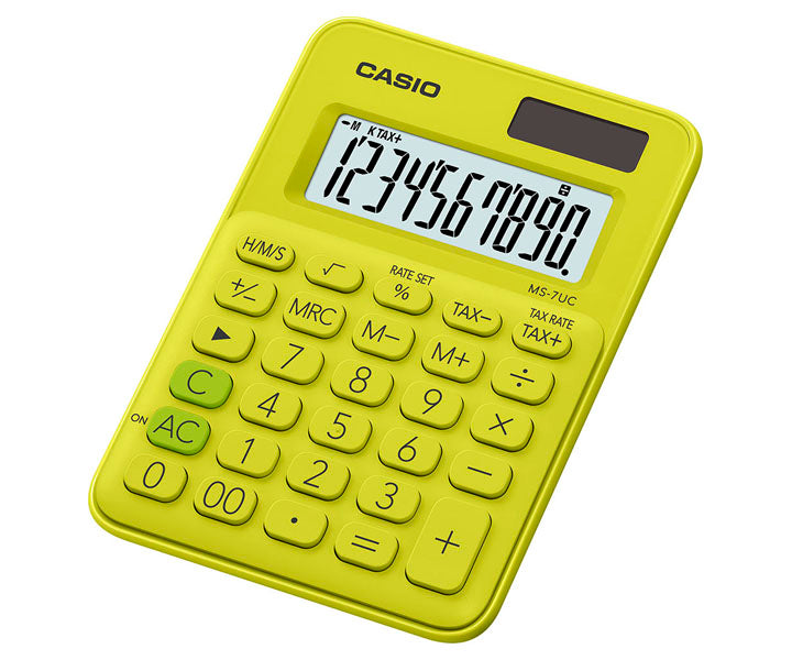 Casio Colorful Series Calculator MS-7UC