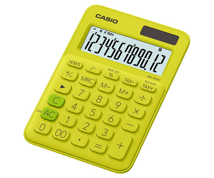 Casio Colorful Series Calculator MS-20UC