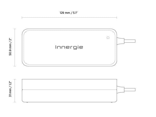 Innergie 90W PowerGear 90 Universal Laptop chargers