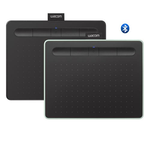 Wacom Intuos Small with Bluetooth Drawing Tablet (CTL-4100WL) (Free Small Wacom Accessory Case Worth RM49)