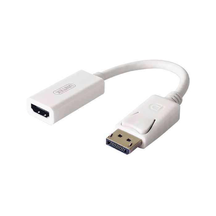 Unitek DisplayPort To HDMI(F) 20cm (Support 4K) Converter (Y-6332)